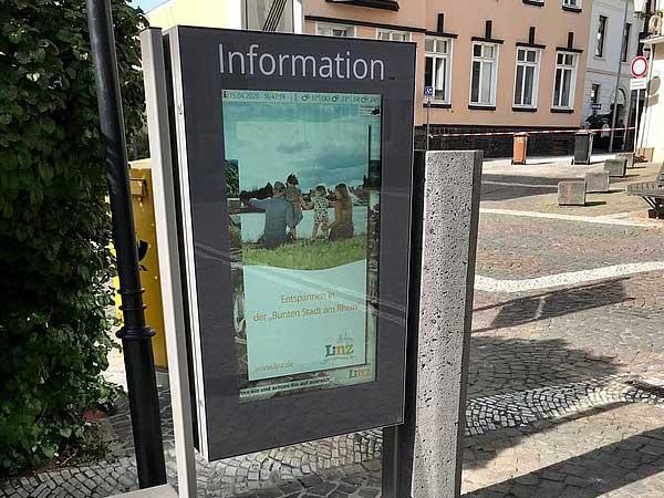 Interaktives Touristenkommunikationssystem